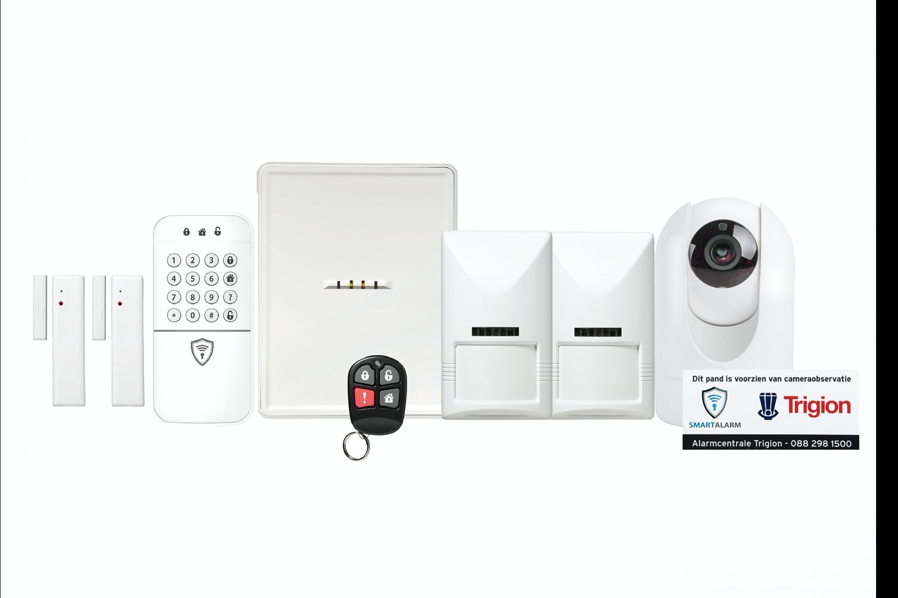 Plus Alarmpakket met Full HD camera